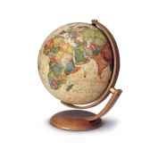 globe de bureau optimus 30 globe geographique lumineux cartographie de type antique reactualisee diam 30 cm hauteur 40