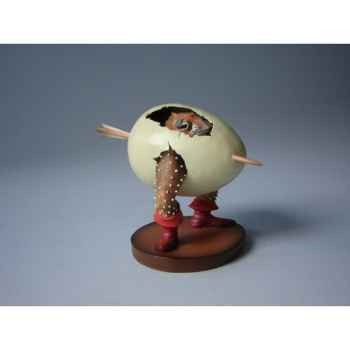 Figurine art mouseion jeroen bosch ei monster  jb10 3dMouseion