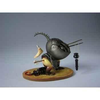 Figurine art mouseion jeroen bosch gehelmd vogelmonster  jb11 3dMouseion