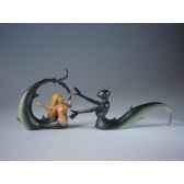 figurine art mouseion jeroen bosch zeemeermin ridder jb14 3dmouseion