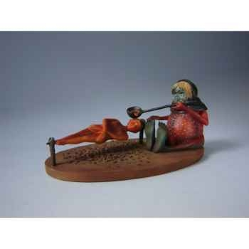 Figurine art mouseion jeroen bosch heksenkeuken witches'kitchen  jb15 3dMouseion