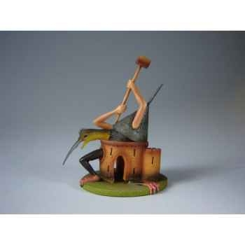 Figurine art mouseion jeroen bosch kasteelmonster  jb18 3dMouseion