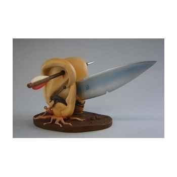 Figurine art mouseion jeroen bosch ears w knife large  jb23 3dMouseion