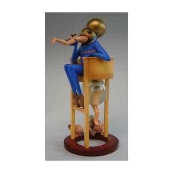 Figurine art mouseion jeroen bosch duivel op stoel large  jb24 3dMouseion