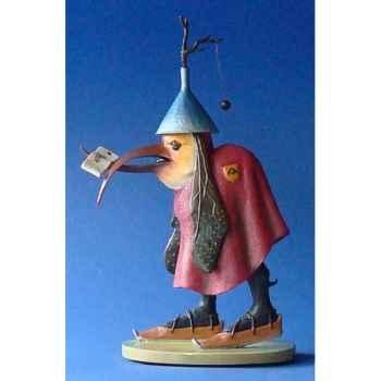 Figurine art mouseion jeroen bosch vogelbrief middel  jb25 3dMouseion