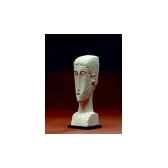 figurine art mouseion modigliani tete d une femme mo02 3dmouseion