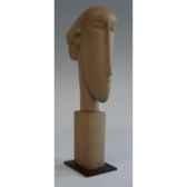 figurine art mouseion modigliani head 22cm on metabase mo06 3dmouseion