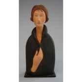 figurine art mouseion modigliani blue eyed woman mo09 3dmouseion