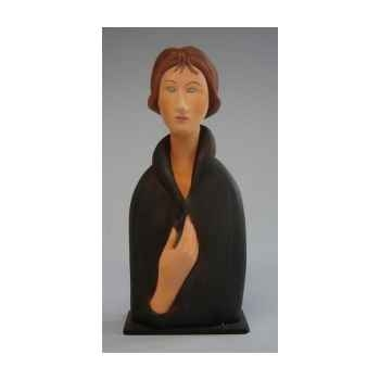 Figurine art mouseion modigliani blue eyed woman  mo09 3dMouseion