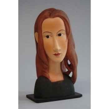 Figurine art mouseion modigliani jeanne hebuterne  mo10 3dMouseion