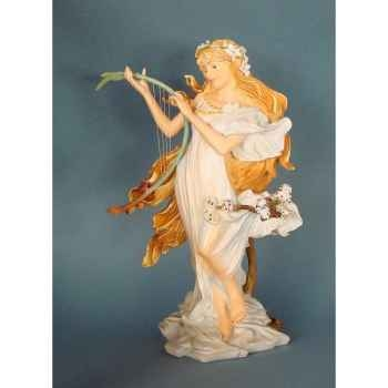 Figurine art mouseion mucha spring  muc04 3dMouseion