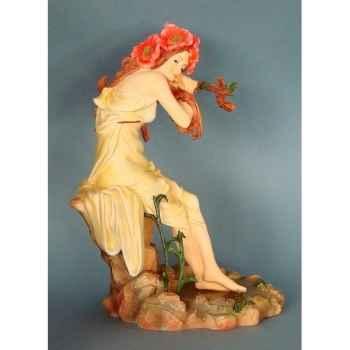 Figurine art mouseion mucha summer  muc05 3dMouseion