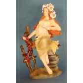 figurine art mouseion mucha automne muc06 3dmouseion