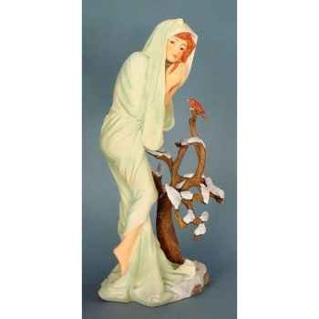 Figurine art mouseion mucha win ter  muc07 3dMouseion