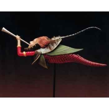 Figurine art mouseion pieter breughel engel met klaroen  pb01 3dMouseion