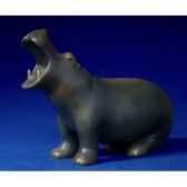 figurine art mouseion pompon hippopotame pom02 3dmouseion