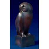 figurine art mouseion pompon grand duc pom03 3dmouseion