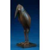 figurine art mouseion pompon marabout pom05 3dmouseion