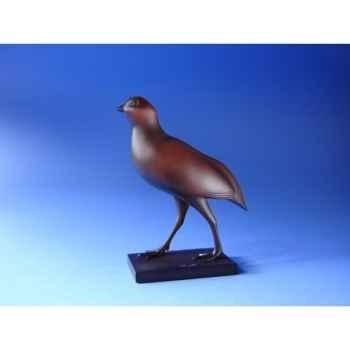 Figurine art mouseion pompon perdreau rouge (grand)  pom12 3dMouseion