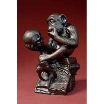 Figurine art mouseion rheinhold philosophical monkey  rhe01 3dMouseion