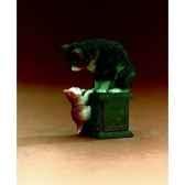 figurine art mouseion ronner knip de beste vrienden 18 rk04 3dmouseion