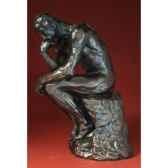 figurine art mouseion auguste rodin le penseur 26 cm ro06 3dmouseion