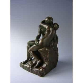 Figurine art mouseion auguste rodin le baiser 24crn bronze  ro11 3dMouseion