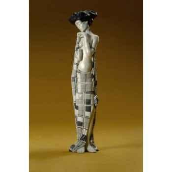 Figurine art mouseion schiele frau  sch01 3dMouseion