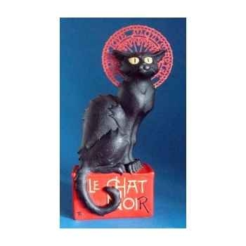 Figurine art mouseion steinlen chat noir  ste01 3dMouseion