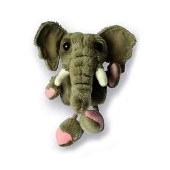 Marionnette à doigts éléphant -PC020202 The Puppet Company