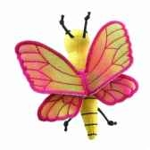 marionnette a doigts papillon jaune pc002133 the puppet company