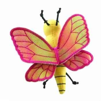 Marionnette à doigts papillon jaune -PC002133 The Puppet Company