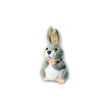 Marionnette à doigts lapin gris -PC020234 The Puppet Company