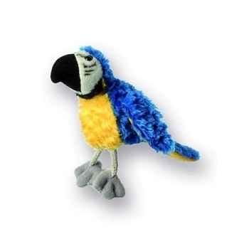 Marionnette à doigts ara bleu et or -PC020304 The Puppet Company