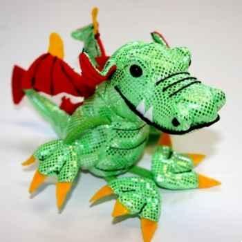 Marionnette à doigts dragon vert -PC002136 The Puppet Company