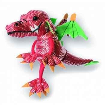 Marionnette à doigts dragon rouge -PC002032 The Puppet Company