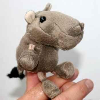 Marionnette à doigts hippopotame -PC002137 The Puppet Company