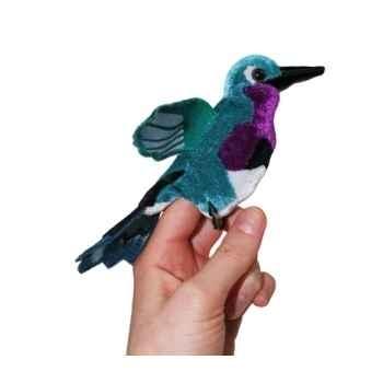 Marionnette à doigts oiseau mouche émeraude -PC002140 The Puppet Company