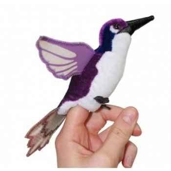 Marionnette à doigts oiseau mouche violet -PC002142 The Puppet Company