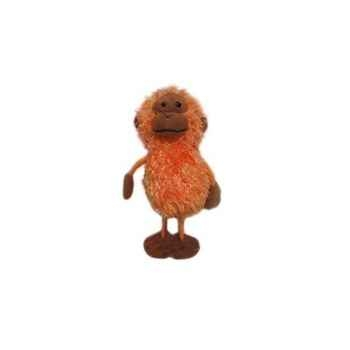 Marionnette à doigts orang-outan -PC002112 The Puppet Company