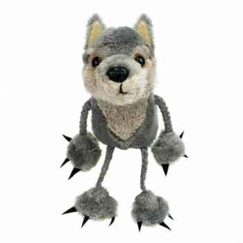 Marionnette à doigts loup -PC002119 The Puppet Company