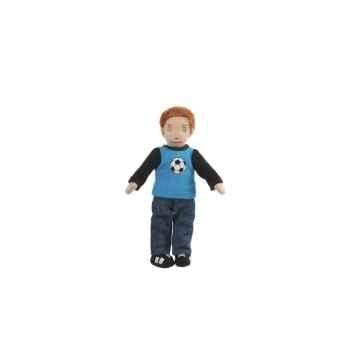 Marionnette à doigts garçon (peau blanche) -PC002157 The Puppet Company