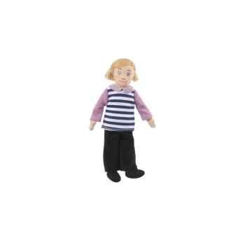 Marionnette à doigts maman (peau blanche) -PC002165 The Puppet Company