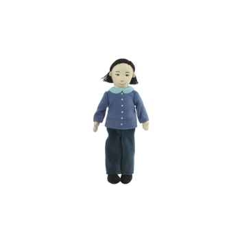 Marionnette à doigts maman (peau olive) -PC002168 The Puppet Company