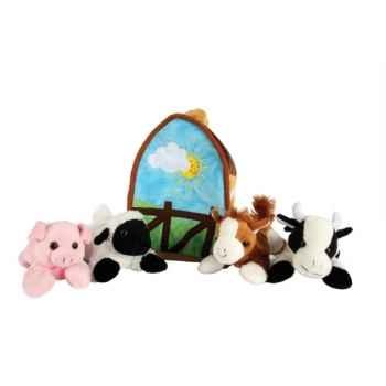Marionnette animaux de la ferme et grange -PC004502 The Puppet Company