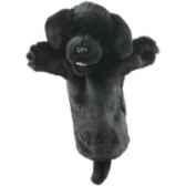marionnette peluche labrador noir pc006035 the puppet company