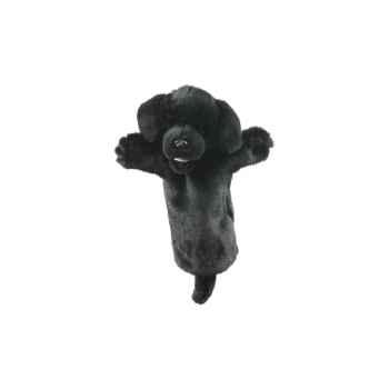 Marionnette peluche labrador noir -PC006035 The Puppet Company