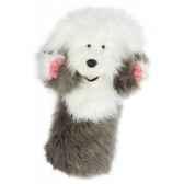 marionnette peluche vieu chien de berger pc006045 the puppet company