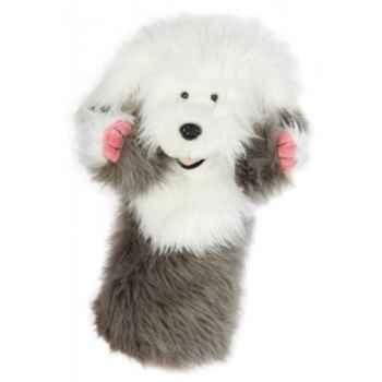 Marionnette peluche vieu chien de berger -PC006045 The Puppet Company