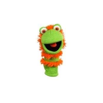 Marionnette chaussette à doigts mini ginger -PC007105 The Puppet Company